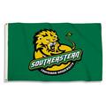 SE Louisianna Lions 3 Ft. X 5 Ft. Flag W/Grommets