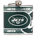 New York Jets Stainless Steel 6 oz. Flask with Metallic Graphics