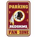 Washington Redskins Plastic Parking Sign - Fan Zone