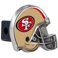 San Francisco 49er's Helmet Trailer Hitch Cover