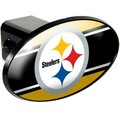 Pittsburgh Steelers Oval Trailer Hitch Cover