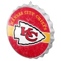 Kansas City Chiefs Bottle Cap Sign