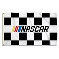 Nascar Checkered 3 Ft. X 5 Ft. Flag W/Grommets