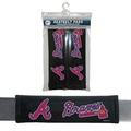 Atlanta Braves Seat Belt Pad 2 Pack