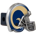 Los Angeles Rams Helmet Trailer Hitch Cover