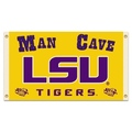 LSU Tigers Man Cave 3 Ft. X 5 Ft. Flag W/ 4 Grommets