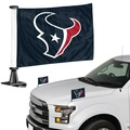 "Houston Texans Ambassador 4"" x 6"" Car Flag Set of 2"