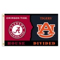 Alabama - Auburn House Divided 3 Ft. X 5 Ft. Flag W/Grommets