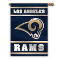 Los Angeles Rams 2-Sided 28 X 40 House Banner