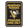 Pittsburgh Penguins Plastic Parking Sign