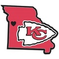 Kansas City Chiefs Home State Decal