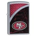 San Francisco 49er's Zippo Refillable Lighter