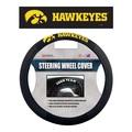 Iowa Hawkeyes   Poly-Suede Steering Wheel Cover