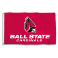 Ball State Cardinals 3 Ft. X 5 Ft. Flag W/Grommets