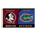Florida - Florida St. 3 Ft. X 5 Ft. Flag W/Grommets - Rivalry House Divided
