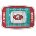 San Francisco 49er's Chip & Dip Tray