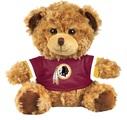 "Washington Redskins 10"" Plush Teddy Bear w/ Jersey"