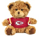 "Kansas City Chiefs 10"" Plush Teddy Bear w/ Jersey"