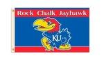 Kansas Jayhawks 3 Ft. X 5 Ft. Flag W/Grommets