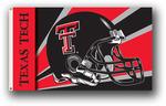 Texas Tech Red Raiders Helmet Design 3 Ft. X 5 Ft. Flag W/Grommets