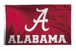 Alabama Crimson Tide 2-sided Nylon Applique 3 Ft x 5 Ft Flag w/ grommets