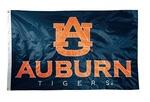 Auburn Tigers 2-sided Nylon Applique 3 Ft x 5 Ft Flag w/ grommets