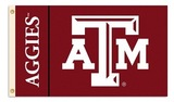 Texas A&M Aggies 3 Ft. X 5 Ft. Flag W/Grommets