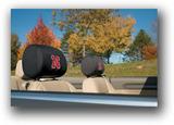 Nebraska Cornhuskers Headrest Covers Set Of 2