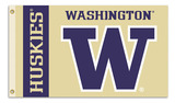 Washington Huskies 3 Ft. X 5 Ft. Flag W/Grommets