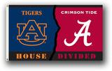 Alabama - Auburn 3 Ft. X 5 Ft. Flag W/Grommets - Rivalry House Divided
