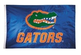 Florida Gators 2-sided Nylon Applique 3 Ft x 5 Ft Flag w/ grommets