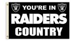 Oakland Raiders 3X5 Flag with Grommetts