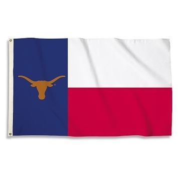 Texas Longhorns 3 Ft. X 5 Ft. Flag W/Grommets picture