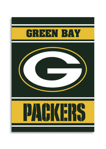 Green Bay Packers 2-Sided 28 X 40 House Banner picture