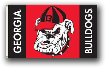 Georgia Bulldogs 3 Ft. X 5 Ft. Flag W/Grommets picture