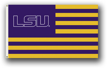LSU Tigers 3 Ft. X 5 Ft. Flag W/Grommets picture