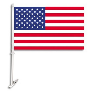 USA Car Flag picture