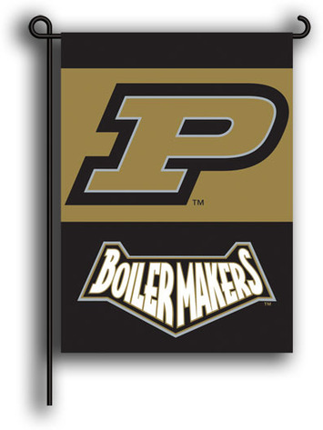 Purdue Boilermakers 2-Sided Garden Flag picture