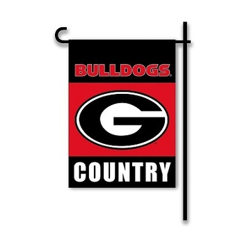 Georgia Bulldogs 2-Sided Country Garden Flag picture