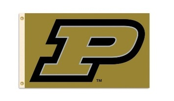 Purdue Boilermakers 3 Ft. X 5 Ft. Flag W/Grommets picture