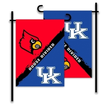 Kentucky - Louisville 2-Sided Garden Flag - Rivalry House Divided picture