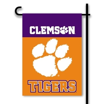 Clemson Tigers 2-Sided Garden Flag picture