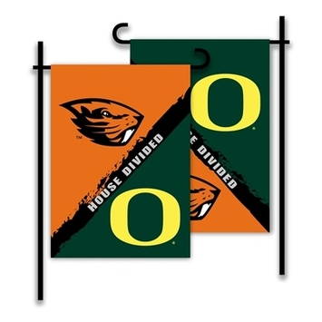 Oregon - Oregon State House Divided 2-Sided Garden Flag picture