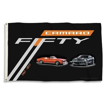 CHEVY CAMARO 50TH 3X5 FLAG picture