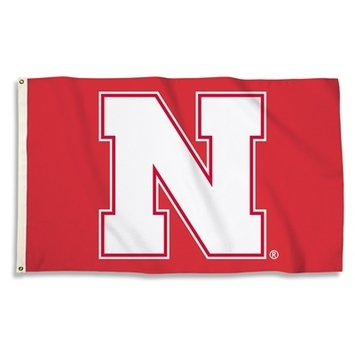 Nebraska Cornhuskers 3 Ft. X 5 Ft. Flag W/Grommets picture