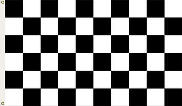Checkered 3 X 5 Flag picture
