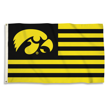 Iowa Hawkeyes 3 Ft. X 5 Ft. Flag W/Grommets picture