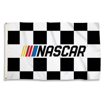 Nascar Checkered 3 Ft. X 5 Ft. Flag W/Grommets picture
