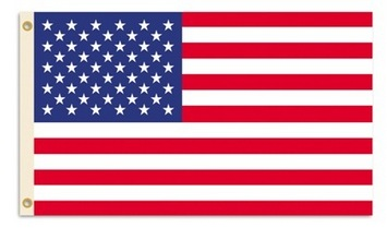 USA 3 Ft. X 5 Ft. Flag W/Grommets picture