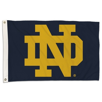Notre Dame  2 Ft. X 3 Ft. Flag W/Grommets picture